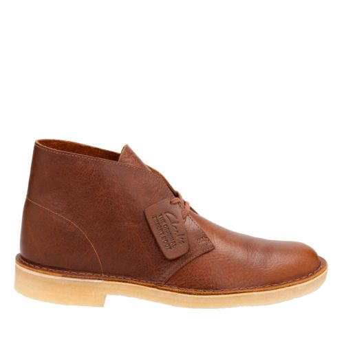 Desert Boot Tan Tumbled Leather mens-boots