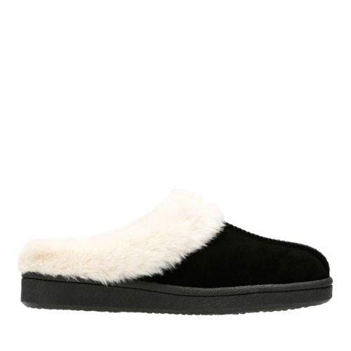 Sidra Freya Black womens-slippers