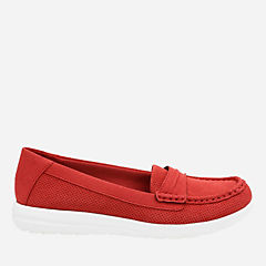 Jocolin Maye Red Perf Textile womens-collection