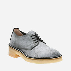 Maru London Charcoal Suede originals-womens-shoes