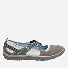 Aria Maryjane Dark Grey Nubuck womens-active