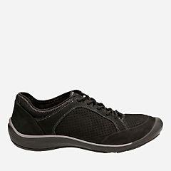 Asney Lace Black Nubuck womens-active