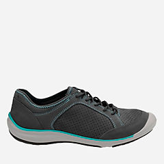 Asney Lace Navy Nubuck womens-active