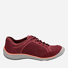 Asney Lace Plum Nubuck womens-active