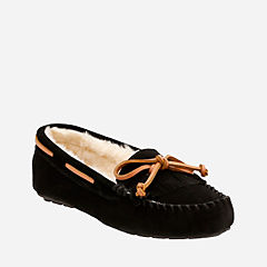 Audrianna Sail Black womens-slippers