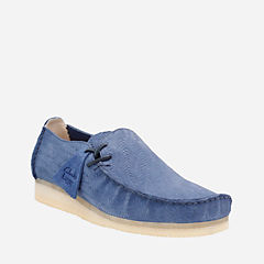 Lugger Night Blue Suede originals-mens-shoes