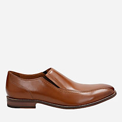 Ensboro Step Tan Leather mens-ortholite