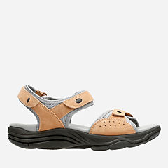 Wave Grip Smokey Brown Nubuck womens-wave-walk
