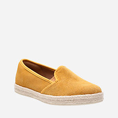 Azella Theoni Yellow Suede womens-collection