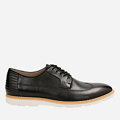 Gambeson Style Black Leather mens-oxfords-lace-ups