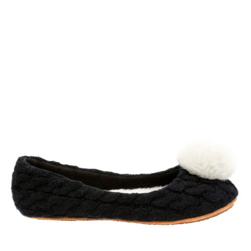 Allys Veranisa Black womens-slippers