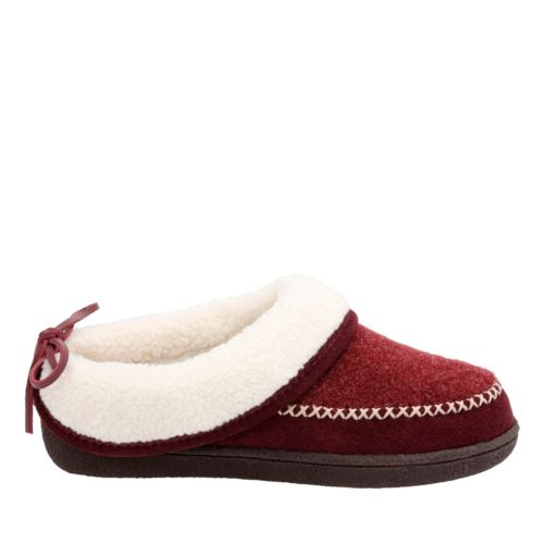 Kysen Joell Burgundy womens-slippers