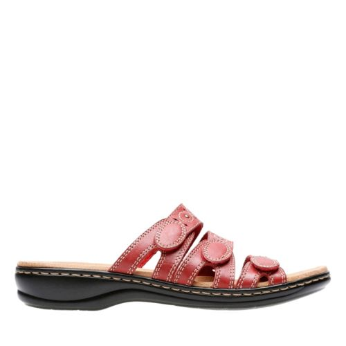 Leisa Cacti Q Red Leather womens-collection