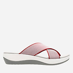 Arla Elin Red womens-sandals-slides