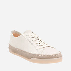 Hidi Holly White Combi Suede womens-active