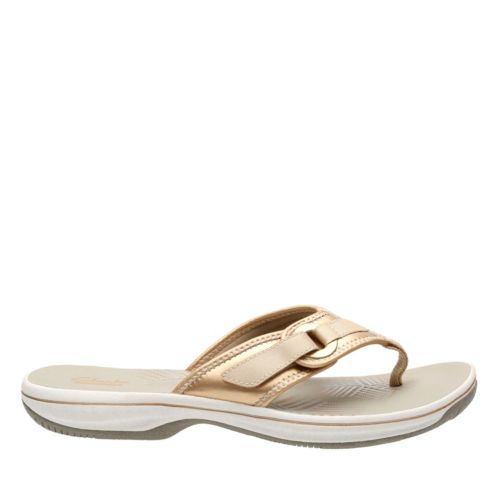 Clarks Womens Breeze Mila Flip-Flops