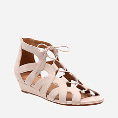 Parram Lux Nude Suede womens-sandals-wedge