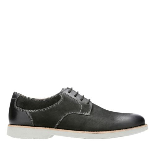 Pariden Plain Black Nubuck with Grey Outsole sale-mens-casual-shoes