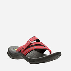 Wave.Coast Red Nubuck womens-wave-walk