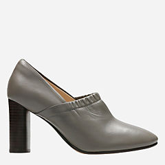 Grace Bay Grey Leather womens-heels