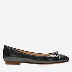 Grace Lily Pewter Metallic womens-flats
