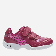 Brite Play First Pink Leather girls-sneakers