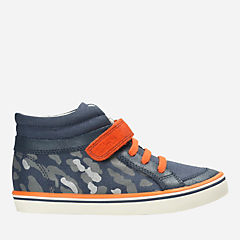 Comic Walk Toddler  Navy Canvas boys-sneakers
