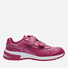 Piper Play Toddler Pink Leather girls-sneakers