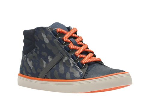 Comic Way Youth Navy Canvas boys-sneakers