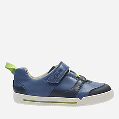 Lilfolk Joe Toddler Blue Leather boys-shoes
