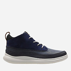 Cloud Air Inf Navy Leather boys-boots