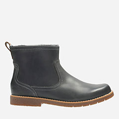 Tildy Moe Inf Grey Leather girls-boots