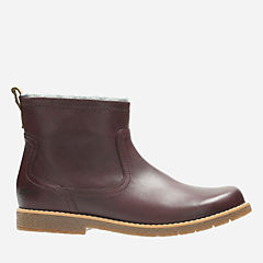 Tildy Moe Inf Burgundy Leather boys-boots