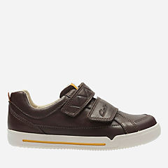 Lilfolk Toby Toddler Brown Leather boys-shoes