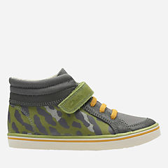 Comic Walk Toddler  Khaki Canvas boys-sneakers