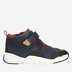 Tri Mimo Inf Navy Leather boys-boots