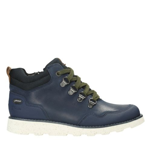 Dexyhi Gtx Inf Navy Leather boys-boots