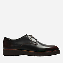 Modur Walk Dark Tan Leather mens-oxfords-lace-ups