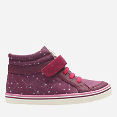 Comic Peg Toddler Plum girls-sneakers