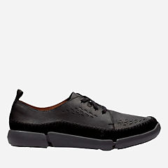Trifri Lace Black Leather mens-active