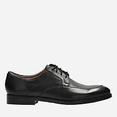 Corfield Apron Black Leather mens-oxfords-lace-ups
