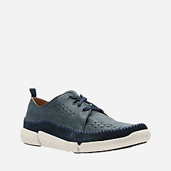 Trifri Lace Navy Nubuck mens-active