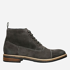 Blackford Cap Grey Suede mens-ortholite