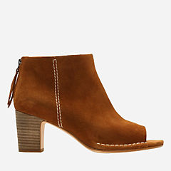 Spiced Melody Tan Suede womens-ankle-boots