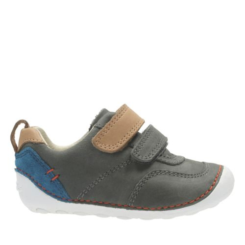 Tiny Aspire Grey Leather boys-shoes