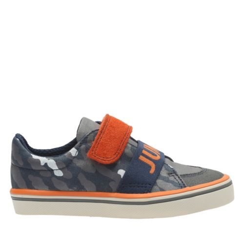 Juggle Wow First Navy Canvas boys-sneakers