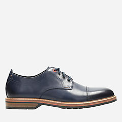 Pitney Cap Blue Leather mens-oxfords-lace-ups
