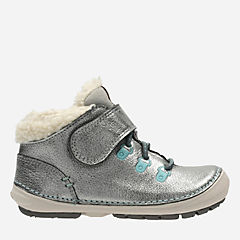 Softly Boo Fst Metallic Leather girls-boots