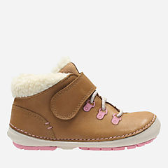 Softly Boo Fst Tan Leather girls-boots