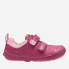 Softly Hen First Pink Leather girls-sneakers